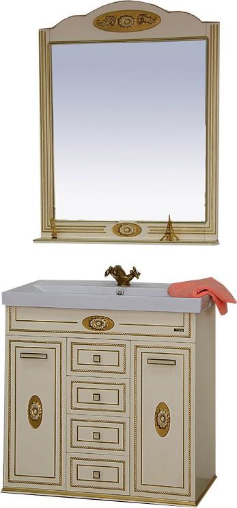 Мебель для ванной roma Дизайновая решетка 102?102?5 латунь – хром, MPV002