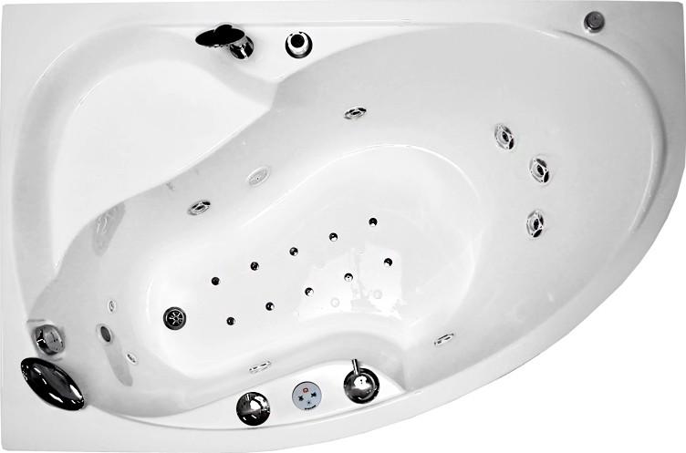 Акриловая ванна Radomir Амелия Комфорт Luxe левая Мойка кухонная Omoikiri Kata 54-U-MA марципан