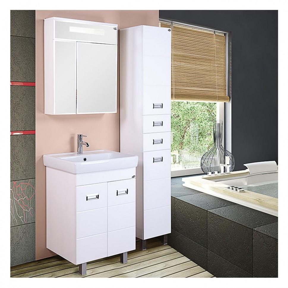 Мебель для ванной балтик Душевая дверь в нишу Vegas Glass EP-F-2 0115 08 10 L профиль глянцевый хром, стекло сатин